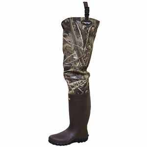Frogg Toggs Bogg Togg 2-ply Poly/Rubber Bootfoot Hip Wader