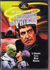 EL ABOMINABLE DR. PHIBES de Vincent Price. España tarifa plana en envío dvd, 5 €