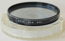 HOYA 58mm 82A Color Conversion filter Made in Japan