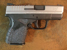 Black Textured Rubber Grips for the Springfield Armory XDS .45 ACP 3.3 & 4.0