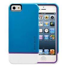 New Body Glove Apple iPhone 5 5S Teal/Purple Icon Hybrid Dual Layer Cover Case