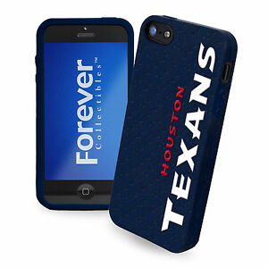 Houston Texans All Silicone IPHONE 5 soft cell phone cover/case - NFL Licensed