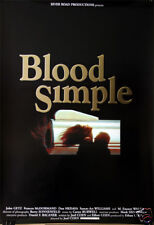 Crime: Coen Brothers : Blood Simple : affiche belge