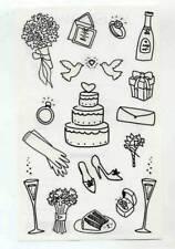 MRS GROSSMANS PEN & INK WEDDING STICKER SHEET BN & NLA
