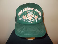 VTG-1986 Free Breast Exams Plastic Surgery Doctor Joke Novelty boobs hat sku14