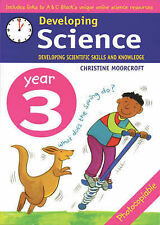 A & C BLACK DEVELOPING SCIENCE YEAR 3 KS2 TEACHER RESOURCE 50+ PHOTOCOPIABLE