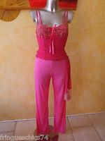 pyjama de luxe rose ALBA LINGERIE taille 42  NEUF ÉTIQUETTE valeur 122€