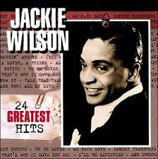 JACKIE WILSON * 24 Greatest Hits *  NEW CD * All Original Recordings