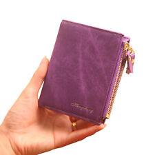 Women's PU Leather Zip Clutch Long Wallet Multi-Function Square Mini Case Bag LG