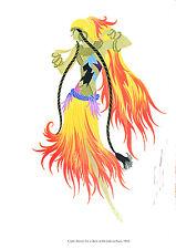 Ertes  Art Deco Costume Illustrations Theatrical Costumes In Colour 1979 Vintage