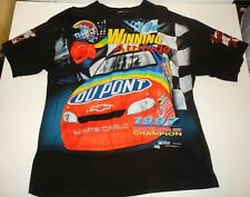 VTG 1997 Jeff Gordon Chase Winston Cup Champion Double Sided USA T-Shirt Sz XXL