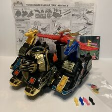 Mighty Morphin Power Rangers Thunderzord Assault Team Near Complete Vintage??