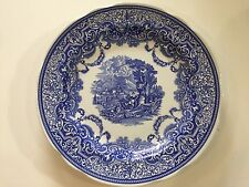 """The Spode Blue Room Collection """"Continental Views"""" Dinner Plate, 10 1/4"""" Dia"""