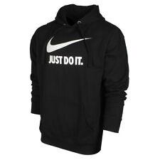 Nike para hombres hacerlo Swoosh con Logotipo Gráfico Sudadera Con Capucha Suéter Lana