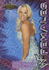 MOLLY HOLLY 2001 Fleer WWE WWF FEMALES Diva Insert Card  #4WF