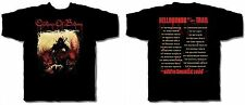 CHILDREN OF BODOM cd cv HELLHOUNDS ON MY TRAIL Official TOUR SHIRT LAST S oop