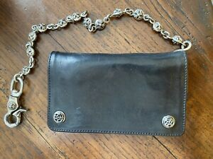 CHROME HEARTS WALLET WITH CHAIN-RARE!!