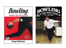 Bowling Instructional Skills Book and DVD Gift Set for Players and Coaches