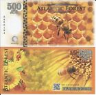 ATLANTIC FOREST BILLETE 500 AVES DOLLARS 2016