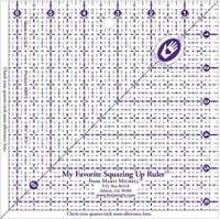 "My Favorite Squaring Up Ruler 6-1/2""X6-1/2"" 715363089738"