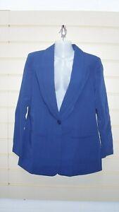 Bon prix Women's Blue Jacket Size 12 Longline tailored BNWOT  G010