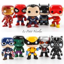 DC Comics super-héros lot de 10 Figurines Justice League Superman Batman Hulk