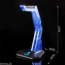 Sades Headphone Stand for Pro Gaming Headset Turtle Beach Acrylic BLUE