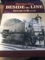 Sketches from Beside the Line by Kenneth Bowen 1993 NSW Railroads