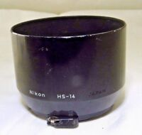 Nikon HS-14 Hood Shade Metal clip on for 135mm f3.5 105mm f2.8 Micro Nikkor EOM