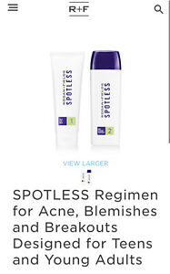 Rodan and Fields SPOTLESS Regimen for Acne, Blemishes & Breakout FREE POSTAGE