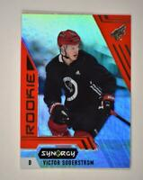 2020-21 UD Synergy Red Rookie #119 Victor Soderstrom RC - Arizona Coyotes