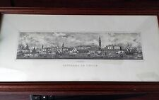 Panorama Se Venice Vintage Litograph G.Brizeghel da Gine Henert with Authency S
