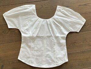 Schöne weiße Bluse von J.CREW - US 2 / S - white blouse / top