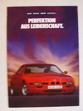 Prospekt BMW 8er E 31 - 850 CSi, 2.1992, 8 Seiten