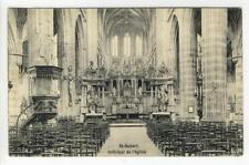 AK Saint-Hubert, Interieur de l´eglise, 1911