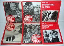 STORIA DELLA GUERRA CIVILE IN ITALIA-1943/1945-EDIZIONI 1965/1973-LOTTO 30 PEZZI