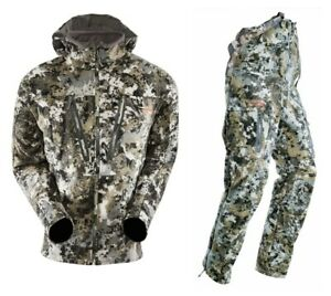 NEW Sitka Gear Stratus Jacket & Bibs Optifade Elevated II Pick Your Size!