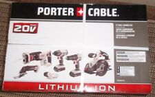 Porter-Cable 20V MAX Cordless Li-Ion 6-Tool Combo Kit #PCCK6116-New