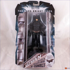 Batman - The Dark Knight Rises Movie Masters with Bat-Signal piece - worn box