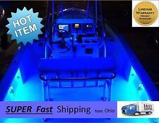 Spectacular BLUE color LED boat LIGHTING kit - - 300 LED's total