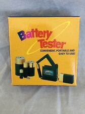 New Universal Aa/Aaa/C/D/18650/9V/1.5V Button Cell Battery Tester Usa Seller!