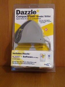 Dazzle CompactFlash Reader/Writer Digital Media Reader Software DM-8000 NEW