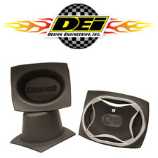 DEI 050351 Boom Mat Sound System Foam Speakers Cups Vibration Deadening 4x6 Oval