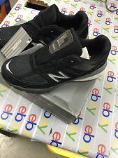new balance Womens Classics 990v5 Black Silver  SIZE 7.5  MED .NWOB.