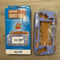 Hori Nintendo Wii U Gamepad Protector - Super Mario Bros 2015 - w/ Stylus! RARE!