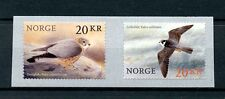 Norway 2017 MNH Birds of Prey Falcons 2v S/A Set Merlin Hobby Birds Stamps