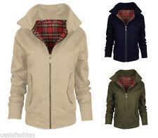 Cotton Waist Length Bomber Coats & Jackets for Women