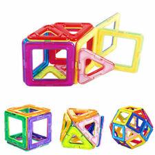20Pcs Large Magnetic Building Blocks Sets Toys Children Educational Puzzles New