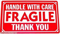 """1000 pieces 3"""" x 5"""" Handle With Care Fragile Label Sticker"""