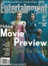 Entertainment Weekly magazine Into the Woods Meryl Streep Holiday movie preview